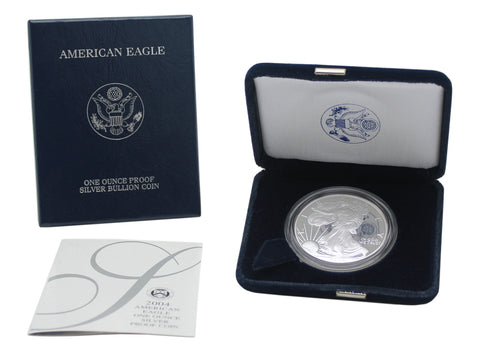 2004 Silver American Eagle Proof
