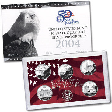 2004 Silver State Quarter Proof Set