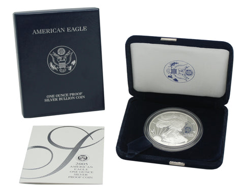 2005 Silver American Eagle Proof