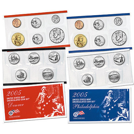 2005 US Mint Uncirculated Coin Set