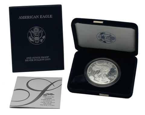 2006 Silver American Eagle Proof