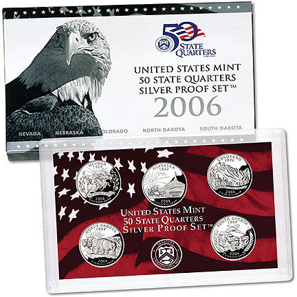 2006 Silver State Quarter Proof Set