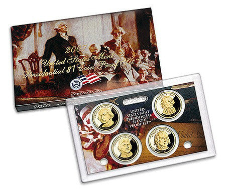 2007 Presidential Dollar Proof Set