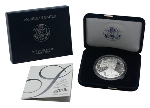 2007 Silver American Eagle Proof
