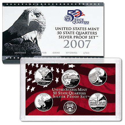 2007 Silver State Quarter Proof Set