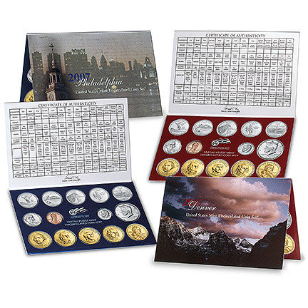 2007 US Mint Uncirculated Coin Set