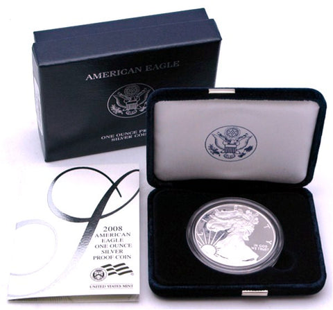 2008 Silver American Eagle Proof