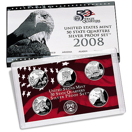2008 Silver State Quarter Proof Set