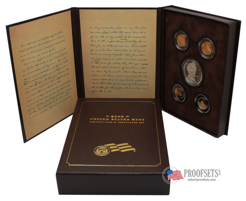 lincoln chronicles coin set