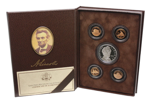 2009 Abraham Lincoln Coin and Chronicles Set