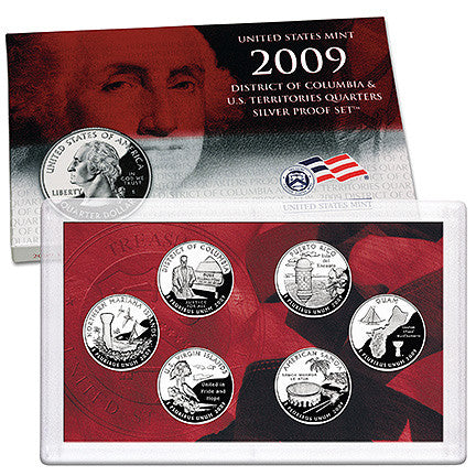 2009 Silver Territory Quarter Proof Set