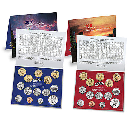 2010 US Mint Uncirculated Coin Set