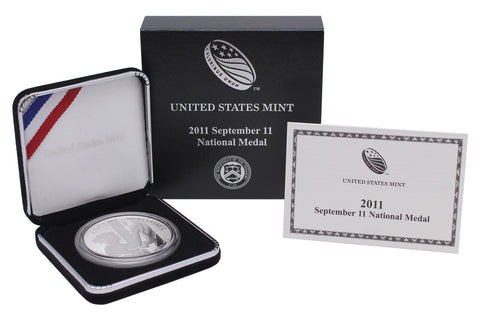 2011-P September 11 Commemorative Silver Medal Proof