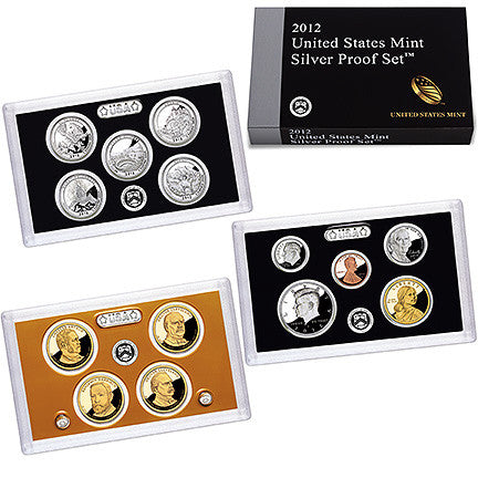 2012 US Mint Silver Proof Set