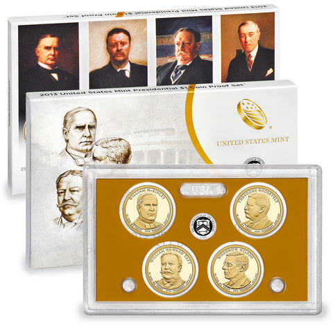 2013 Presidential Dollar Proof Set