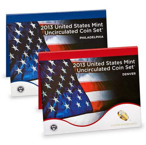 2013 US Mint Uncirculated Coin Set
