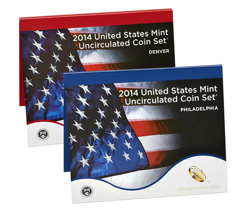 2014 US Mint Uncirculated Coin Set