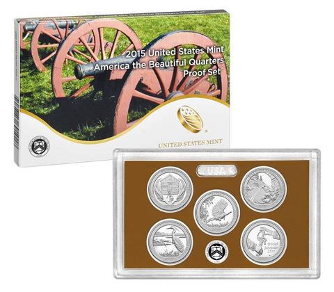 2015 America the Beautiful Quarter Proof Set