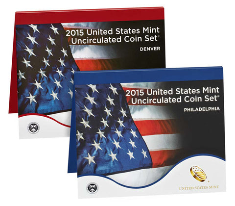 2015 US Mint Uncirculated Coin Set