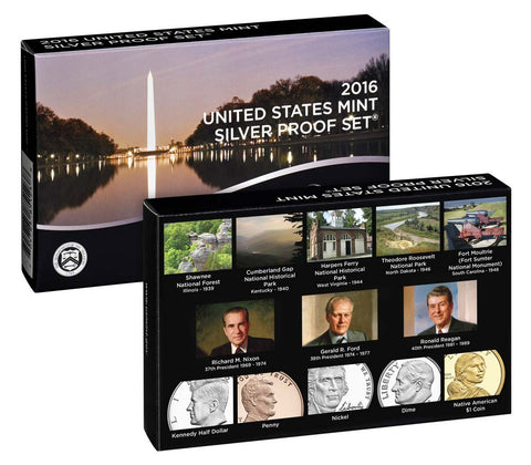 2016 US Mint Silver Proof Set