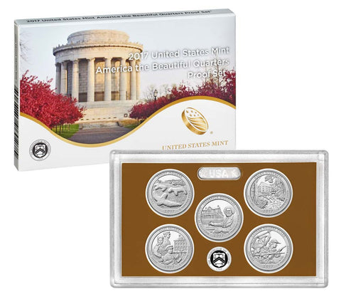 2017 America the Beautiful Quarter Proof Set