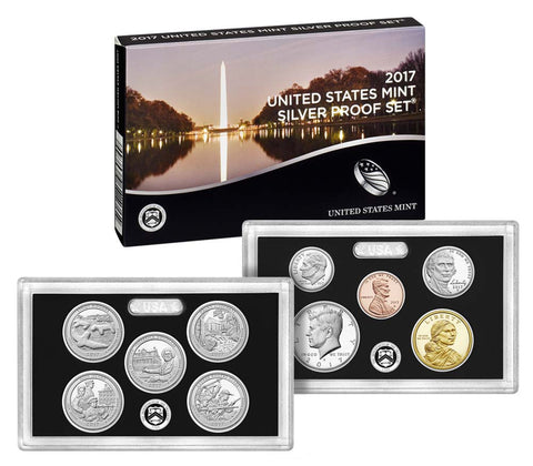2017 US Mint Silver Proof Set