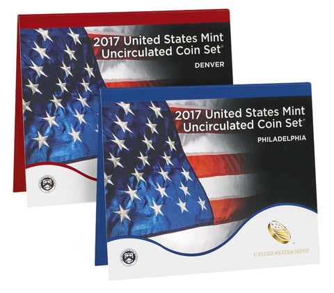 2017 US Mint Uncirculated Coin Set