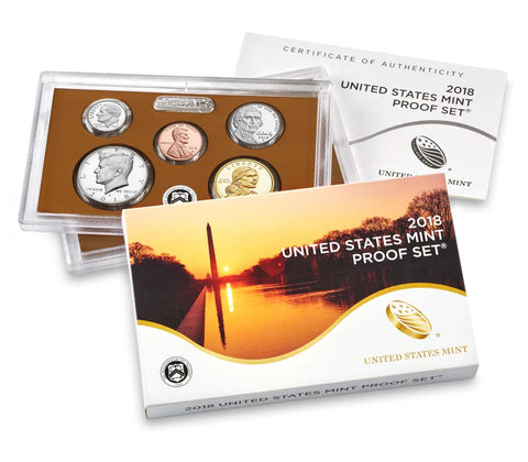 2018 US Mint Proof Set