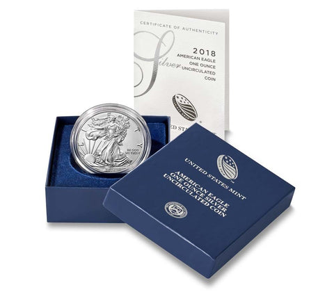 2018-W Silver American Eagle Proof
