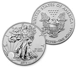 2019 Pride of Two Nations 2-Coin Set (Silver Eagle / Maple)