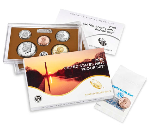 2019 US Mint Proof Set (with Bonus 2019-W Proof Penny)
