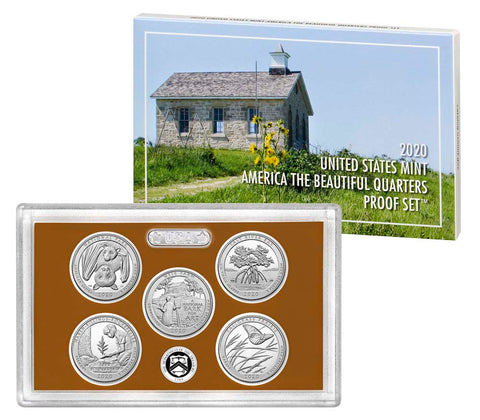 2020 America the Beautiful Quarter Proof Set