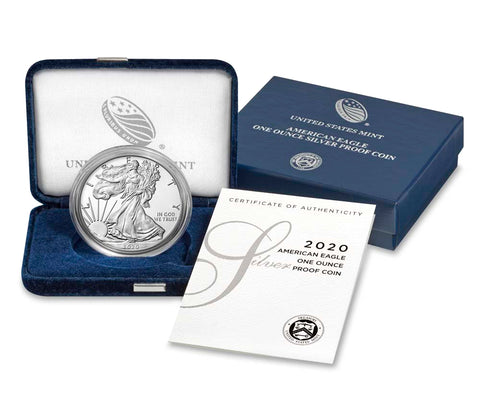 2020-W Silver American Eagle Proof