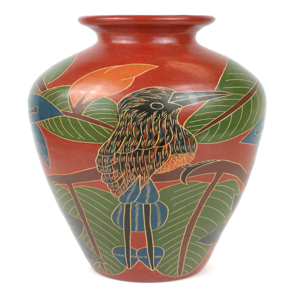 13 inch Tall Vase - Tall Bird Handmade and Fair Trade
