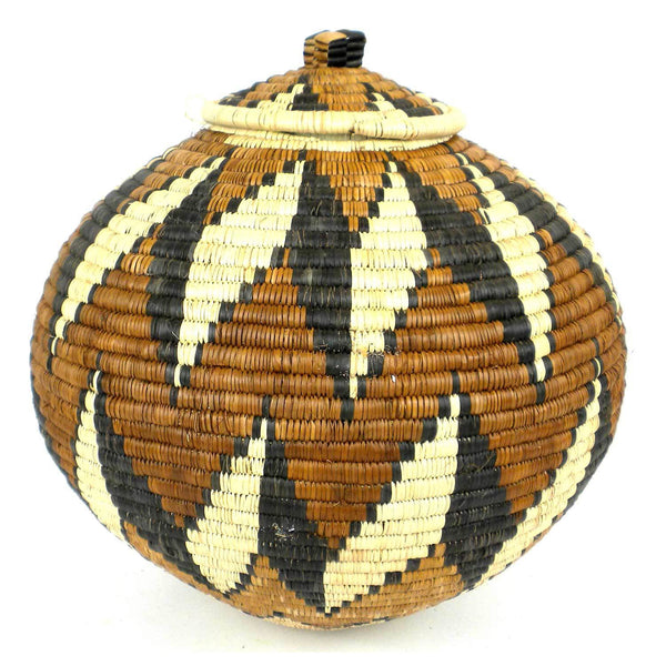 Zulu Wedding Basket -OS26 - Ilala Weavers