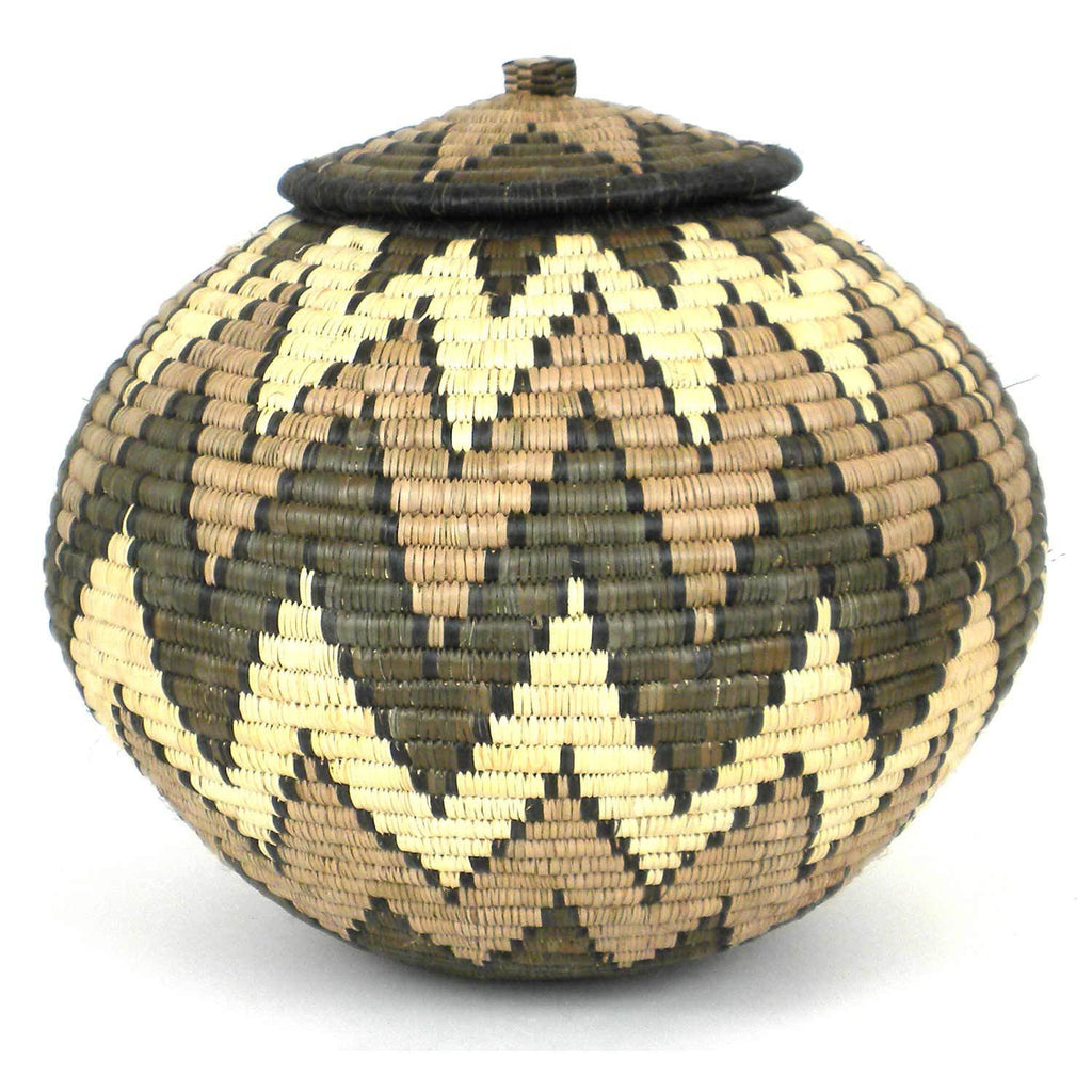 Zulu Wedding Basket -OS-10 - Ilala Weavers
