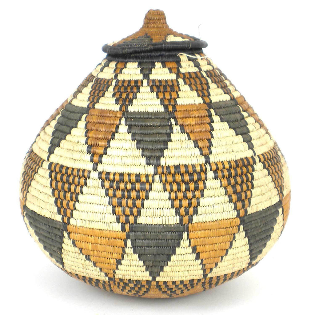 Zulu Wedding Basket - OS16 - Ilala Weavers