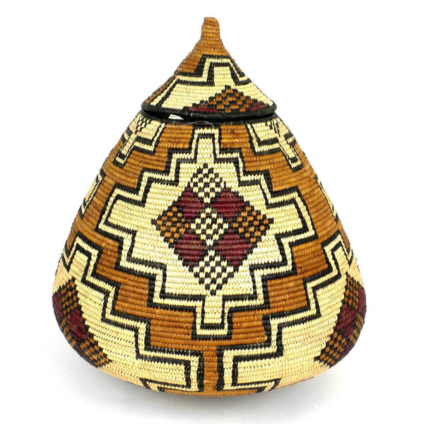 Zulu Wedding Basket- OS01 - Ilala Weavers