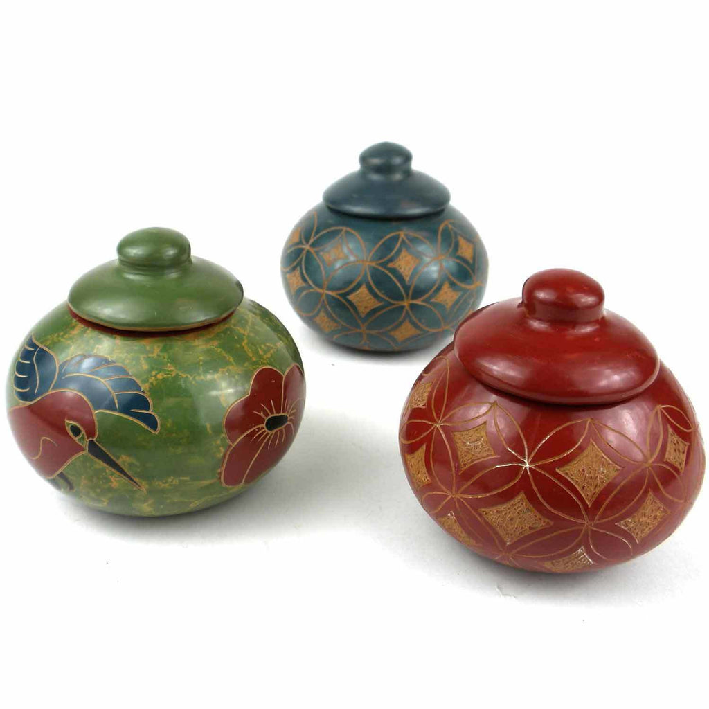Mini Pot with Lid - Various - Esperanza en Accion