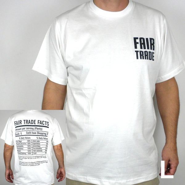 Unisex Fair Trade Tee Shirt Small Fair Trade - Freeset