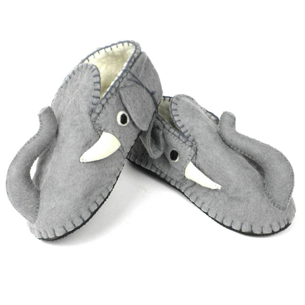 Elephant Slippers Adult Medium - Silk Road Bazaar