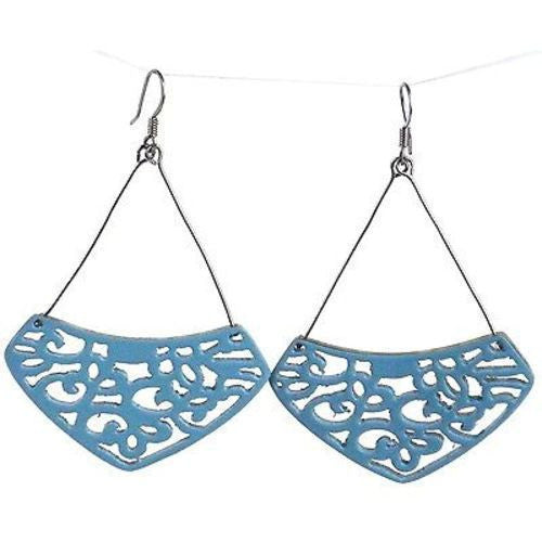 Simone Lace Earrings in Quarry Handmade and Fair Trade