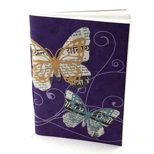 "Butterfly"" Expression Journal Handmade and Fair Trade"
