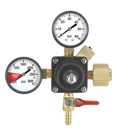 Twin Gauge CO2 Regulator