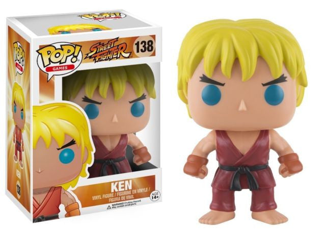 Pop 138 Street Fighter Ken