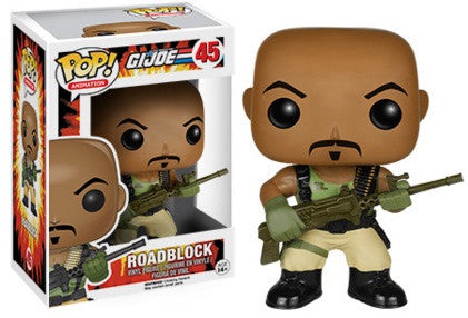 Pop G.I. Joe 45 Road Block