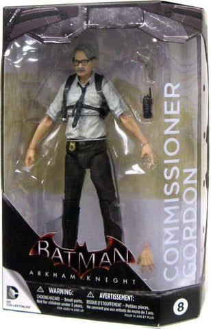 Batman Arkham Knight 8 Commissioner Gordon