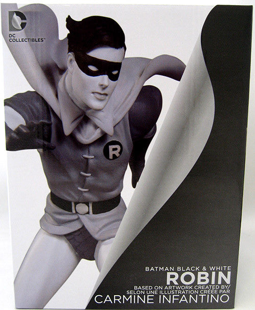 DC Collectibles Batman Black & White Robin Infantino Statue