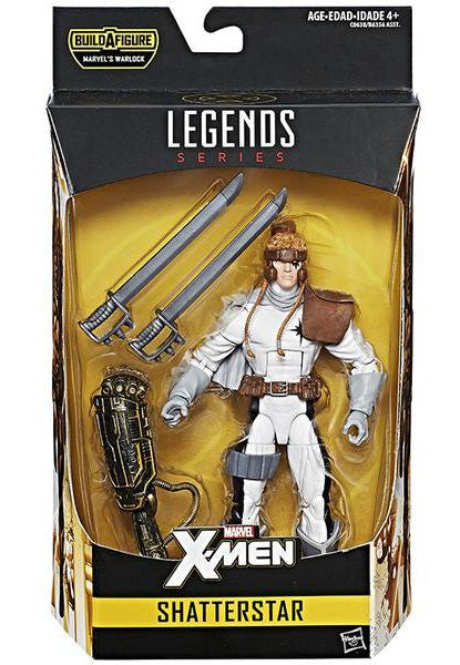Marvel Legends X-Men Shatterstar Warlock B.A.F.
