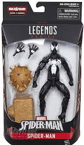 Marvels Legends Sandman B.A.F. Symbiote Spiderman